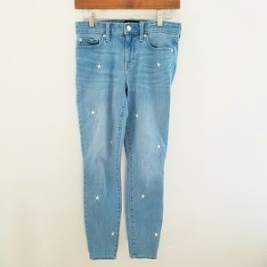 🎃 GAP Embroirdered Star Skinny Jeans Size 2/26